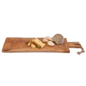 Bowls and Dishes Pure Olive Wood Bakkersplank 60 cm Serveerplank
