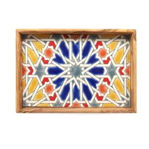 Bowls and Dishes Pure Olive Wood Dienblad 22 x 32 cm Dienblad