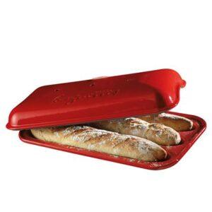 Emile Henry Baguettevorm Brood bakken